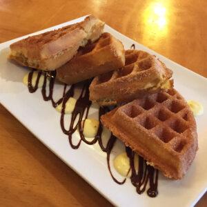Dime Store's Churro Waffle