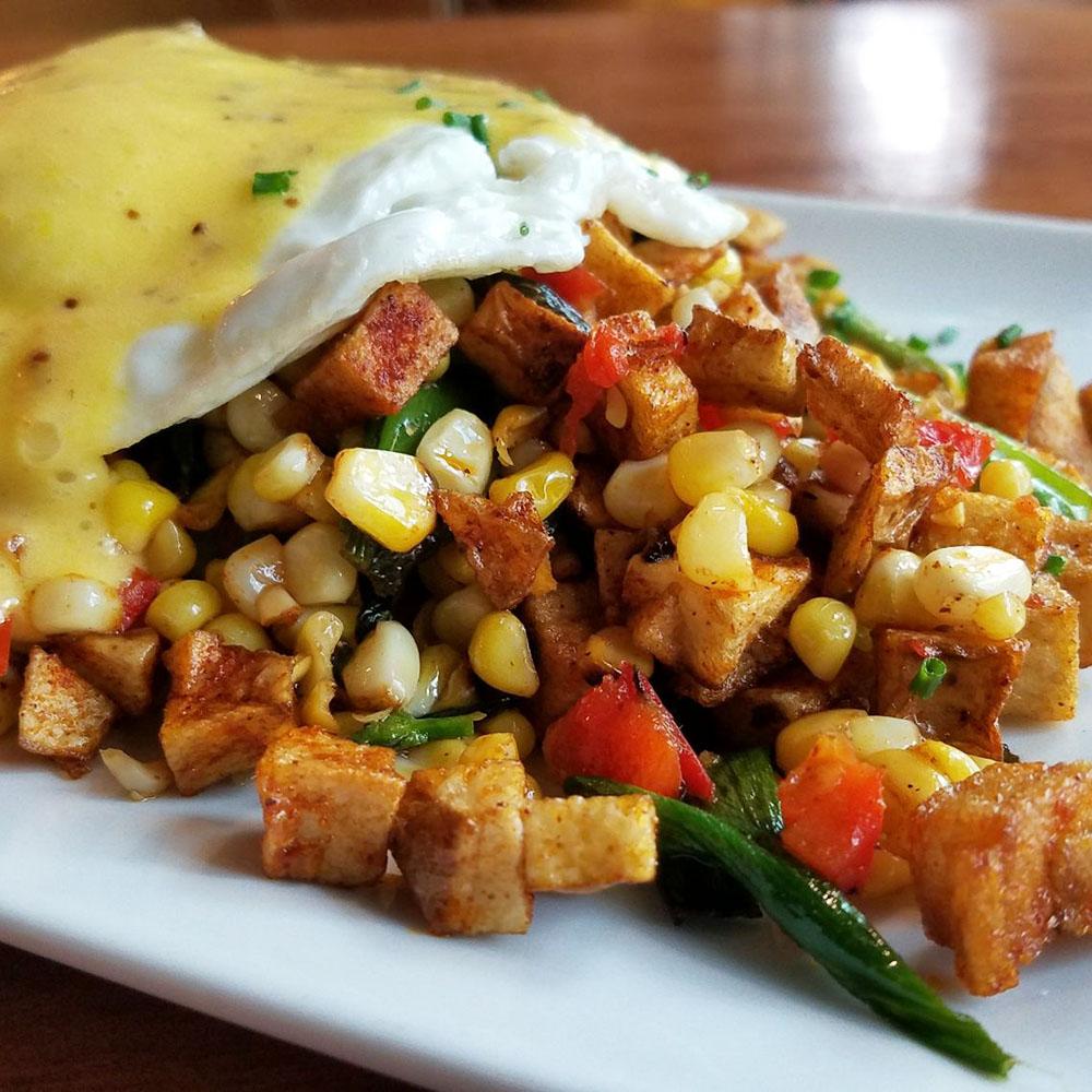 Dime Store's Seasonal Veggie Hash