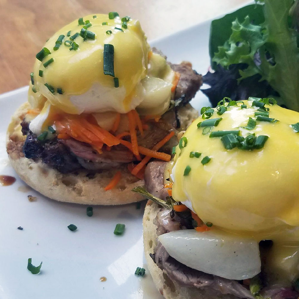 Dime Store's Spring Lamb Benny