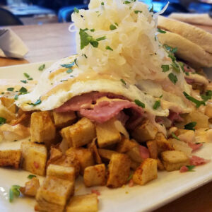 Dime Store's Corned Beef Hash