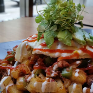 Dime Store's Housemade Sausage Hash