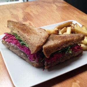 Dime Store's Duck Reuben Sandwich