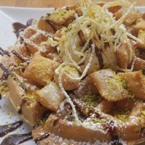 Dime Store's Cannoli Waffle