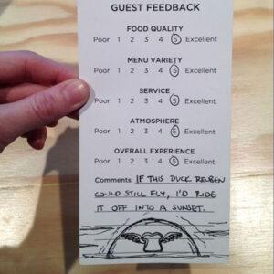Guest Review RE: Dime Store's Duck Reuben