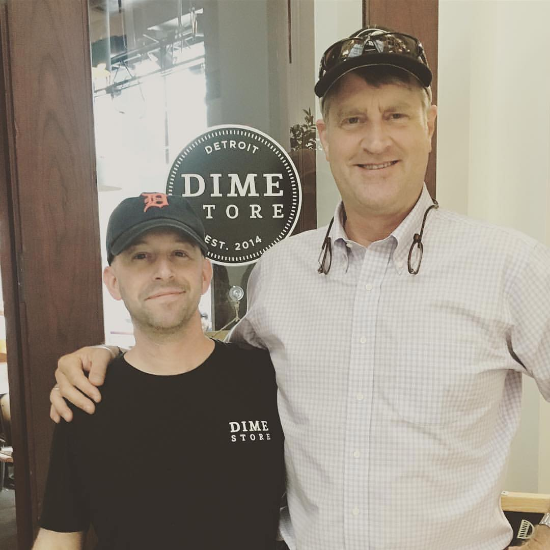 """Treehouse Pete"" Nelson Brunches at Dime Store"