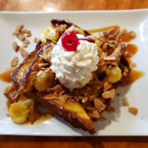 Dime Store's Banana Split French Toast