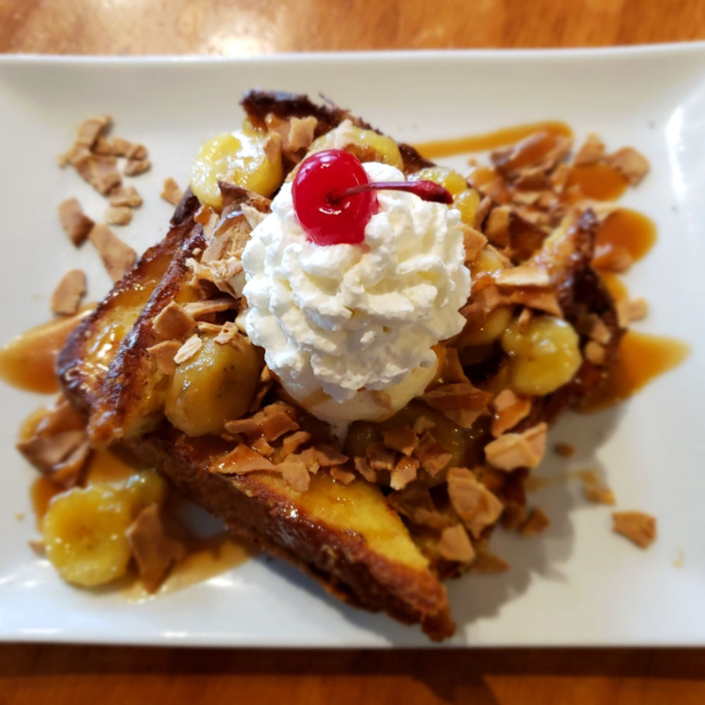 Dime Store's Banana Split French Toast