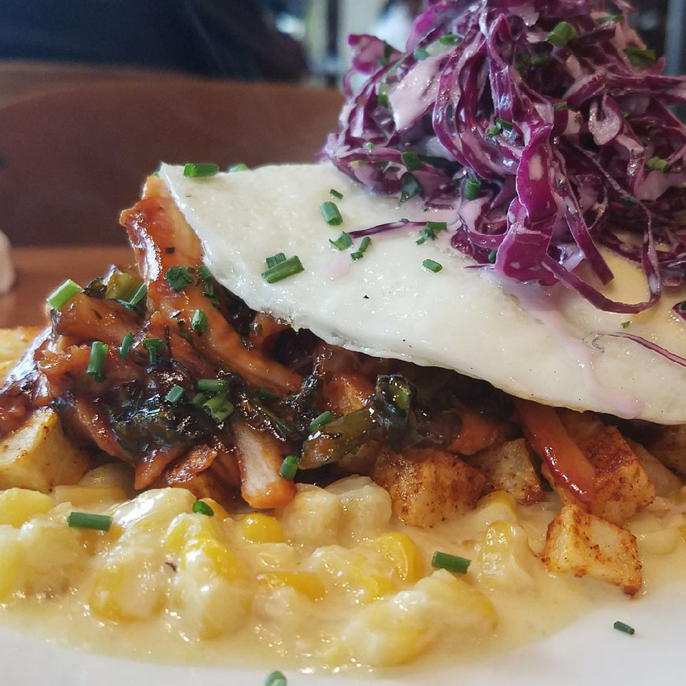 Dime Store's BBQ Chicken Hash