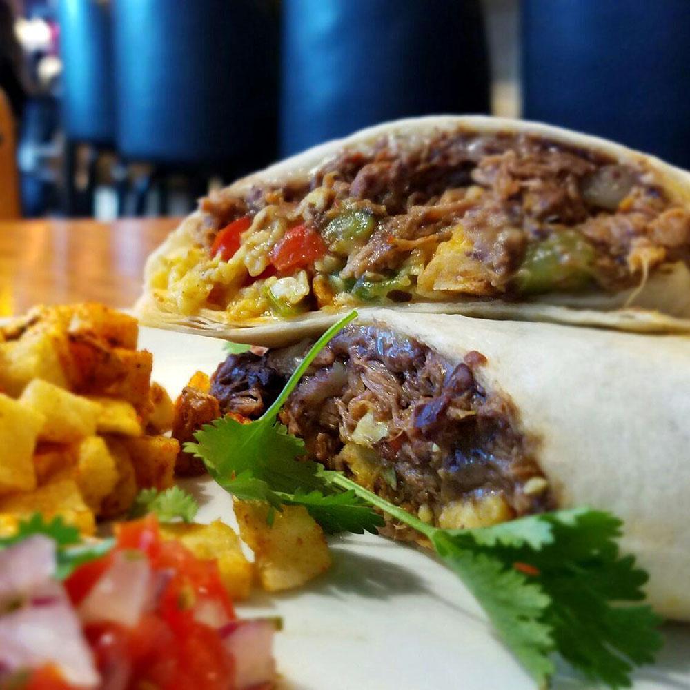 Dime Store's Breakfast Burrito