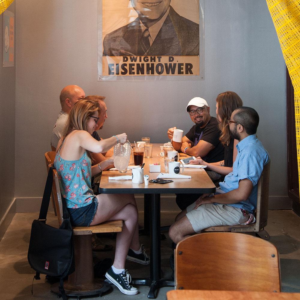 Dime Store Detroit Brunch Restaurant Nook