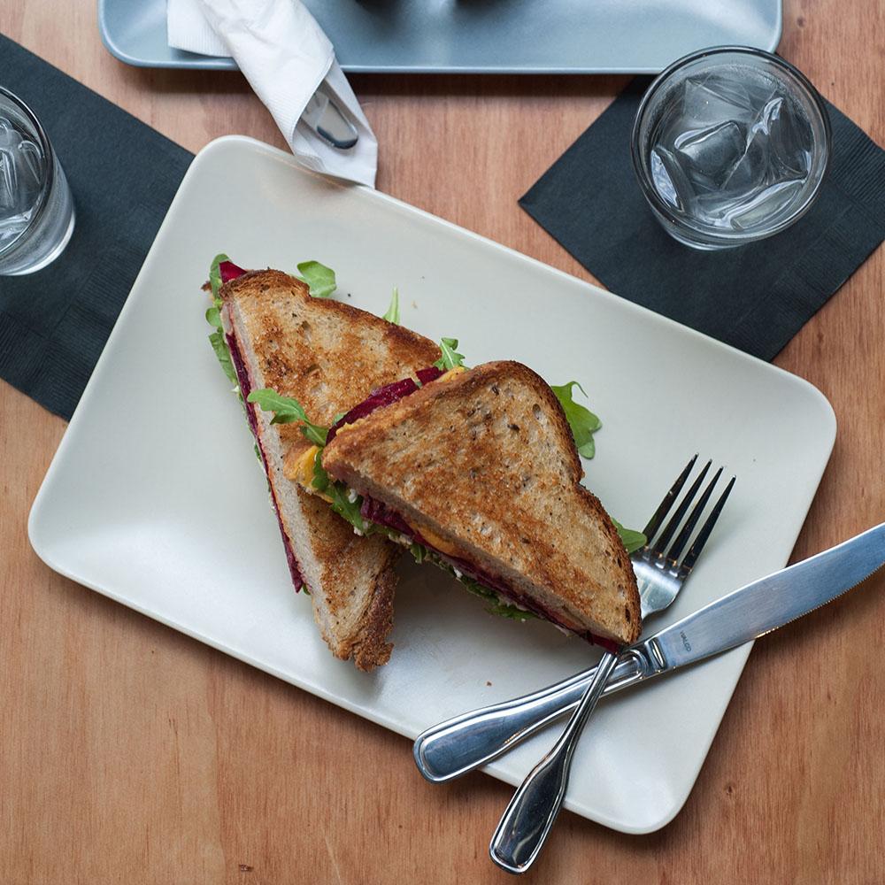 Dime Store Detroit Brunch Restaurant Sandwich